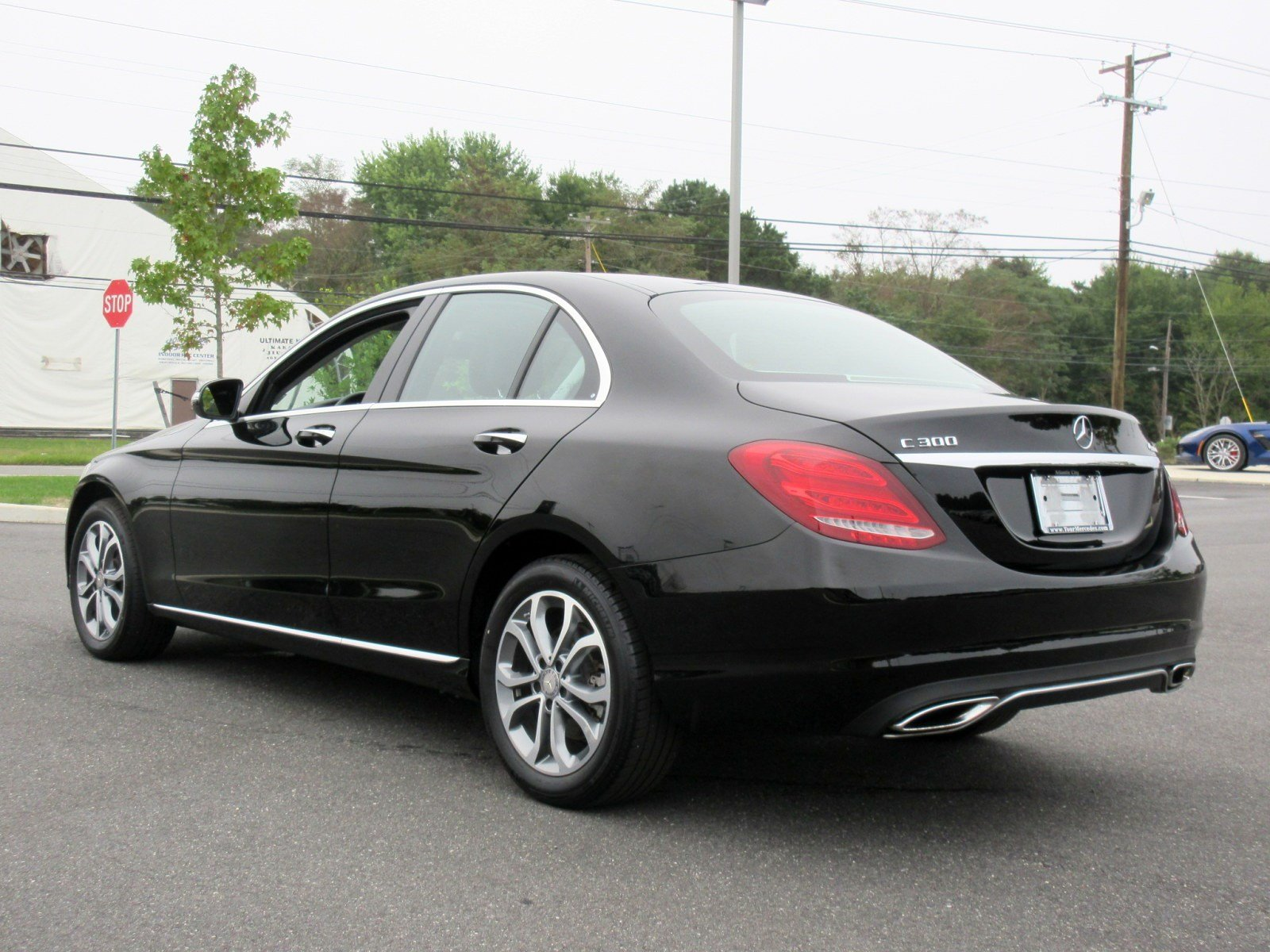Pre Owned 2015 Mercedes Benz C Class C 300 4dr Car in Fort