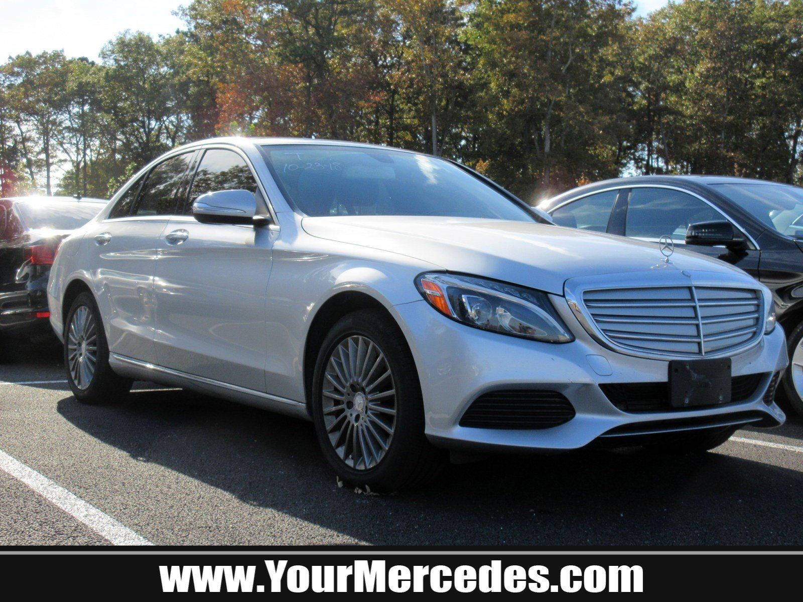 Certified Pre Owned 2015 Mercedes Benz C Class C 300 Luxury 4dr Car