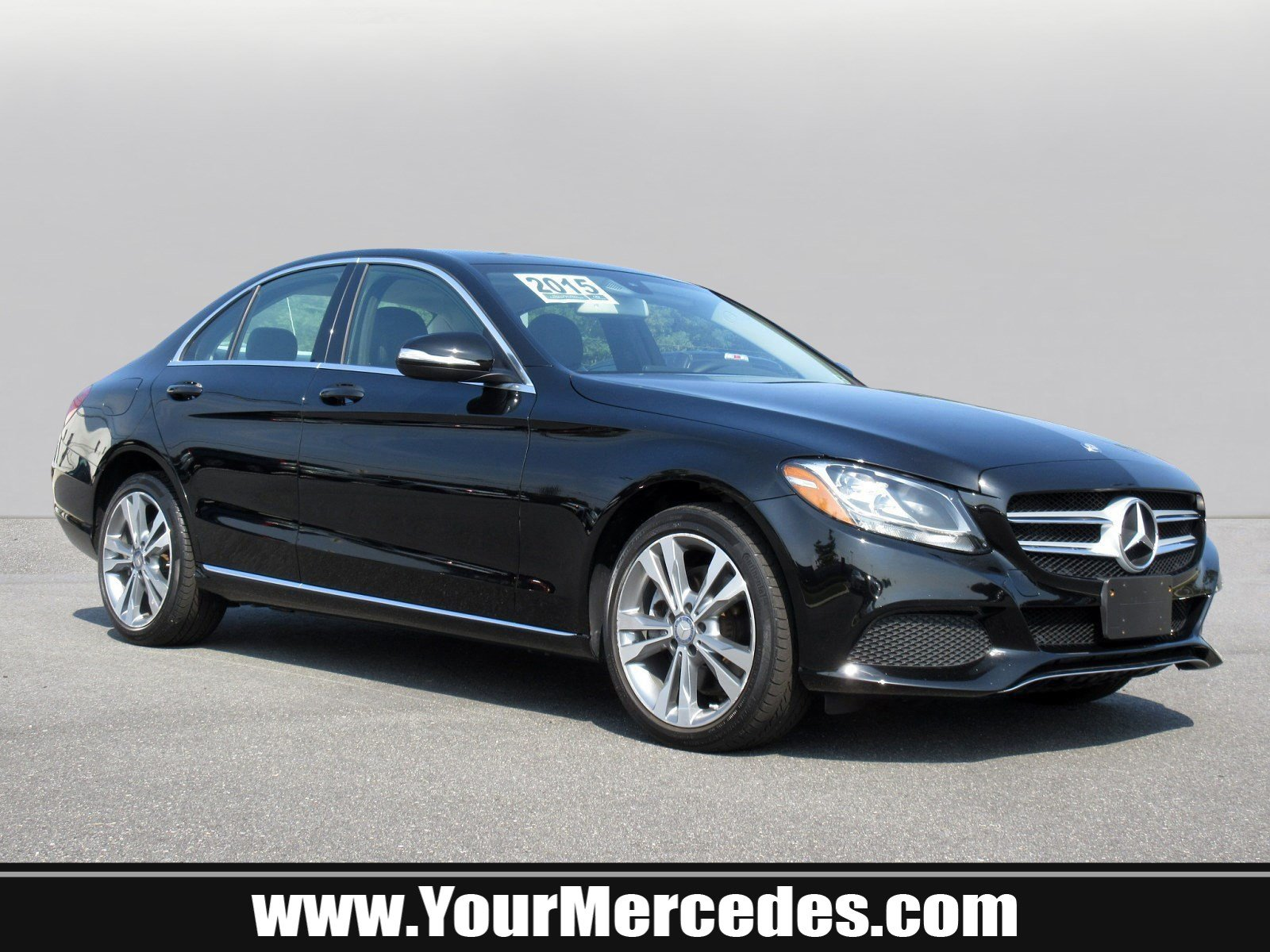 Certified Pre Owned 2015 Mercedes Benz C Class C 300 SEDAN in Fort