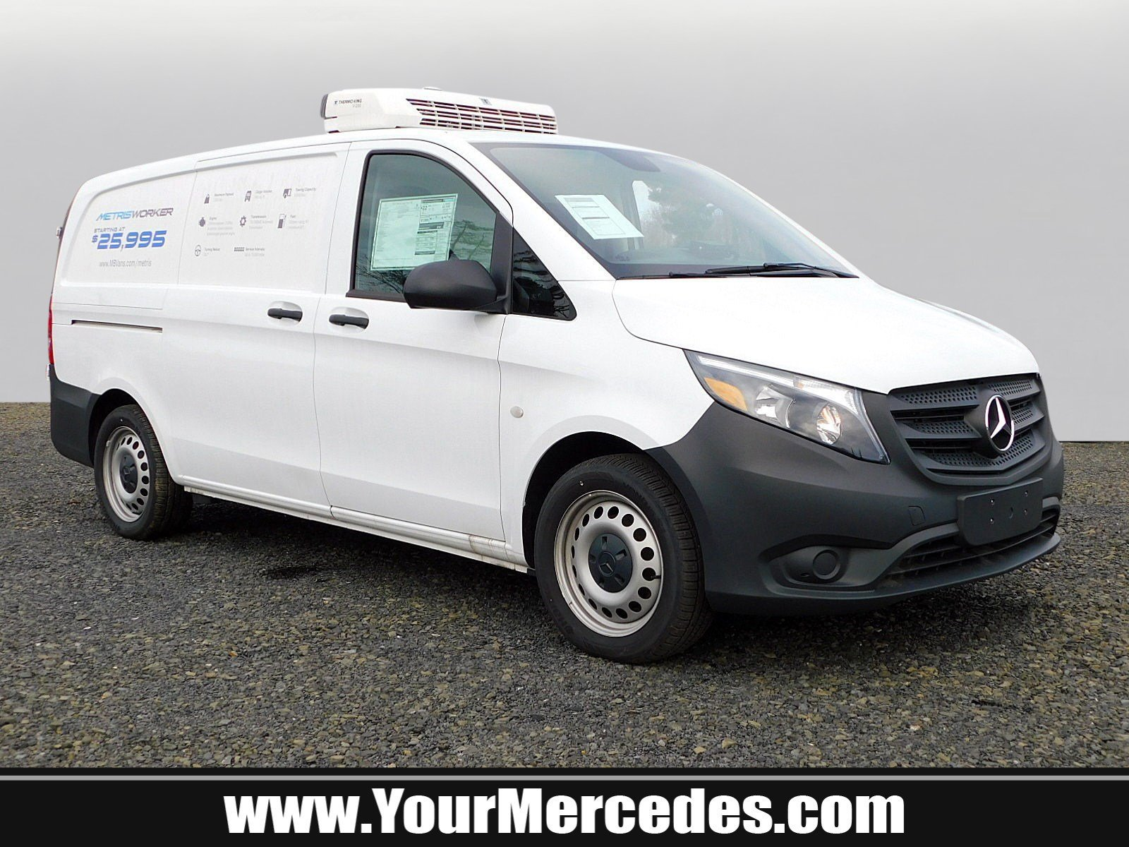new 2017 mercedes-benz metris van cargo van in fort washington
