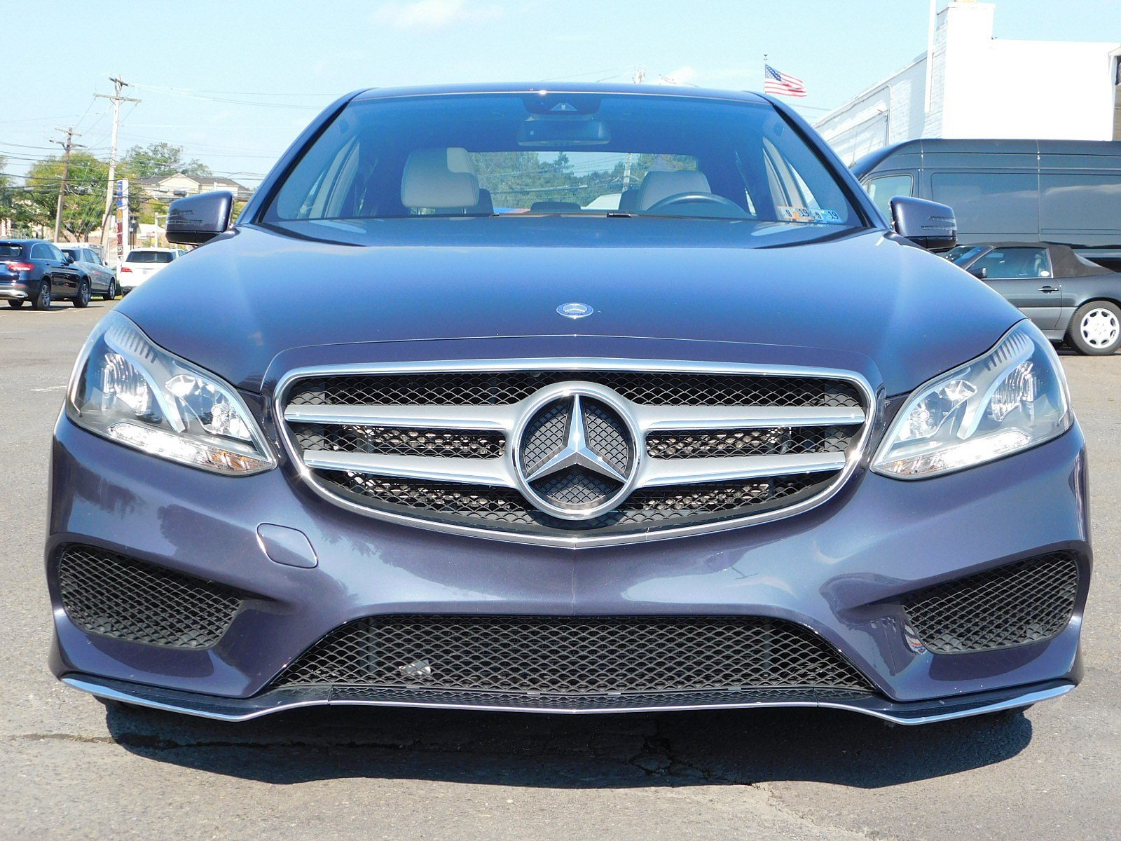 Certified Pre Owned 2015 Mercedes Benz E Class E 400 SEDAN in Fort