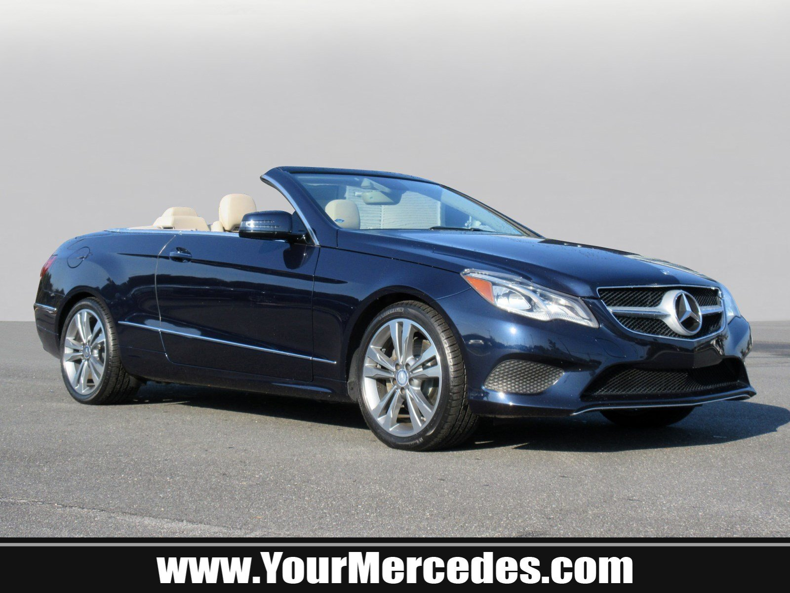 Certified Pre Owned 2014 Mercedes Benz E Class E 350 Convertible in