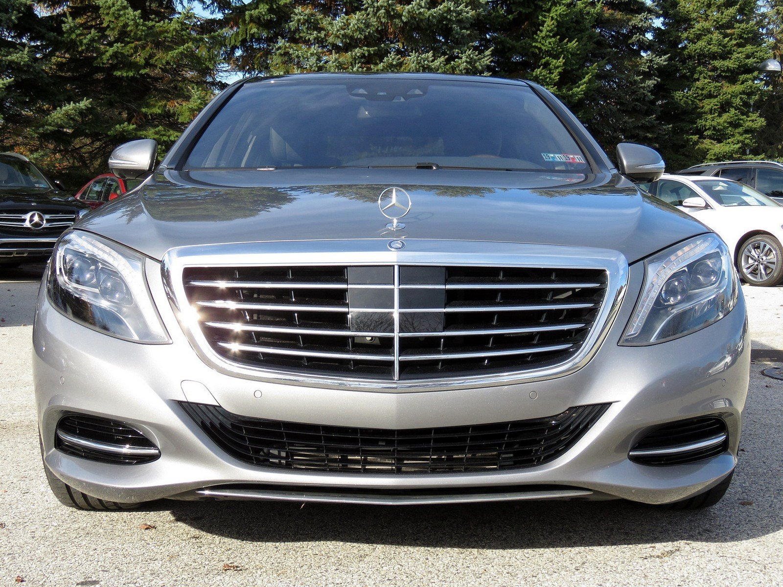 Certified Pre Owned 2015 Mercedes Benz S Class S 550 4dr Car in Fort