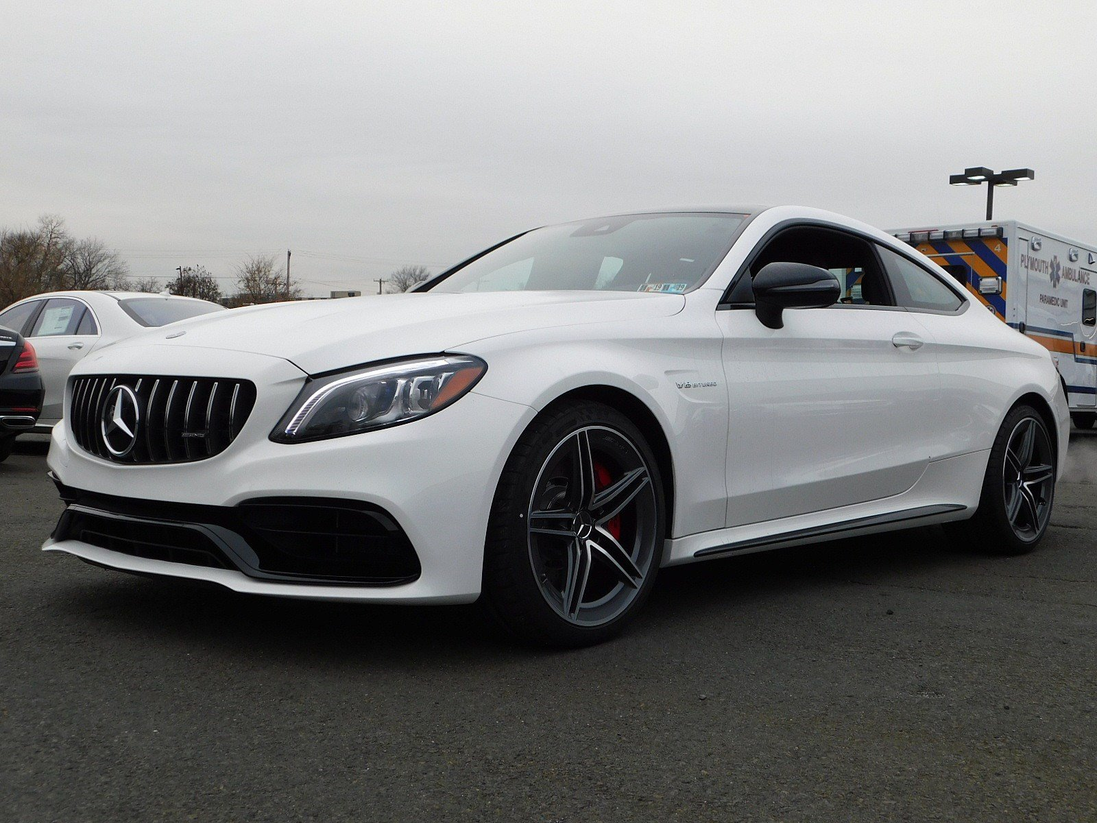 New 2019 Mercedes Benz C Class AMG C 63 S Coupe Coupe in Fort